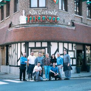 Restaurant Firenze teamfoto